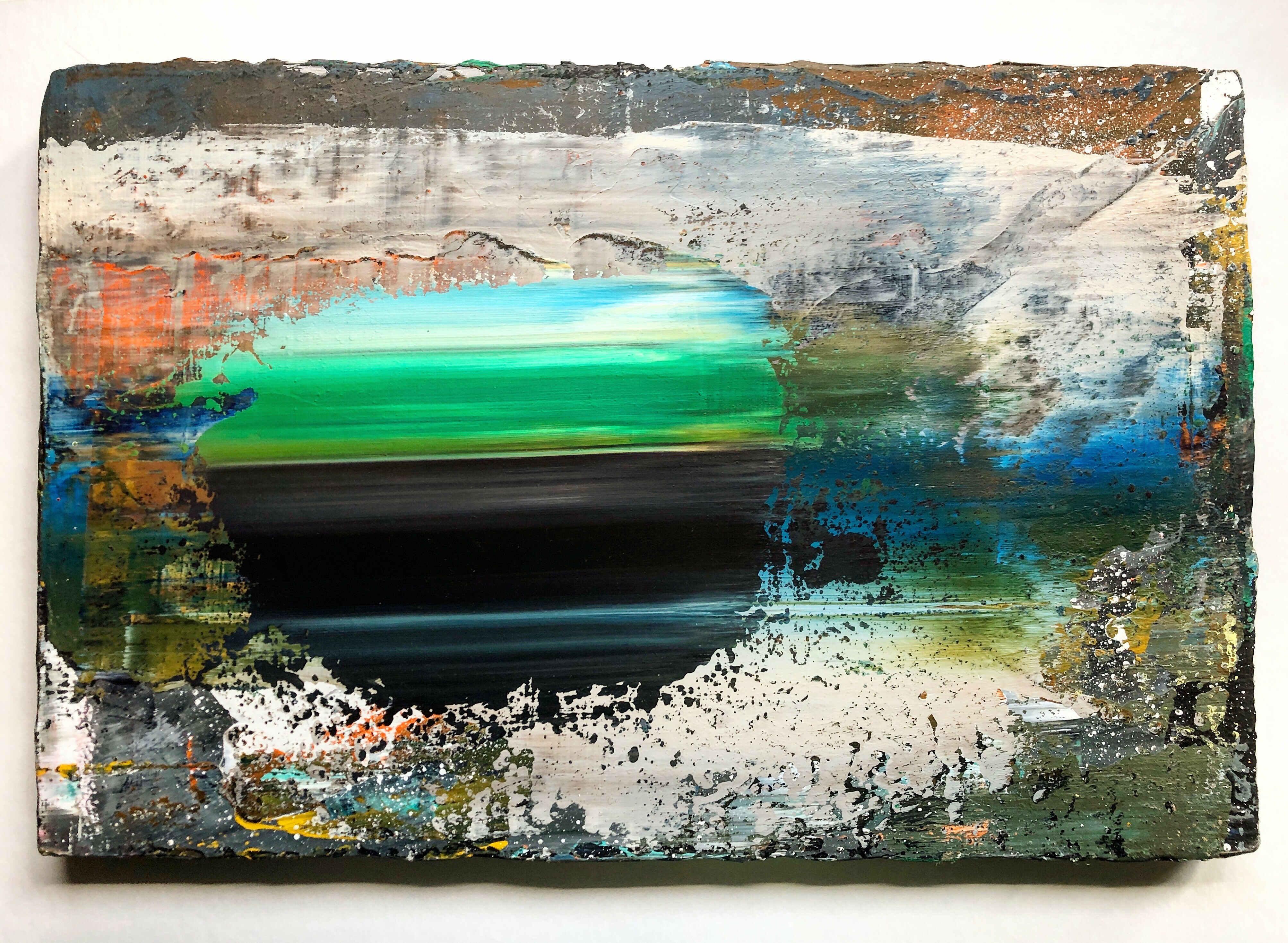 2. (18.5 x 12.5 inches acrylic on mdf 2019)