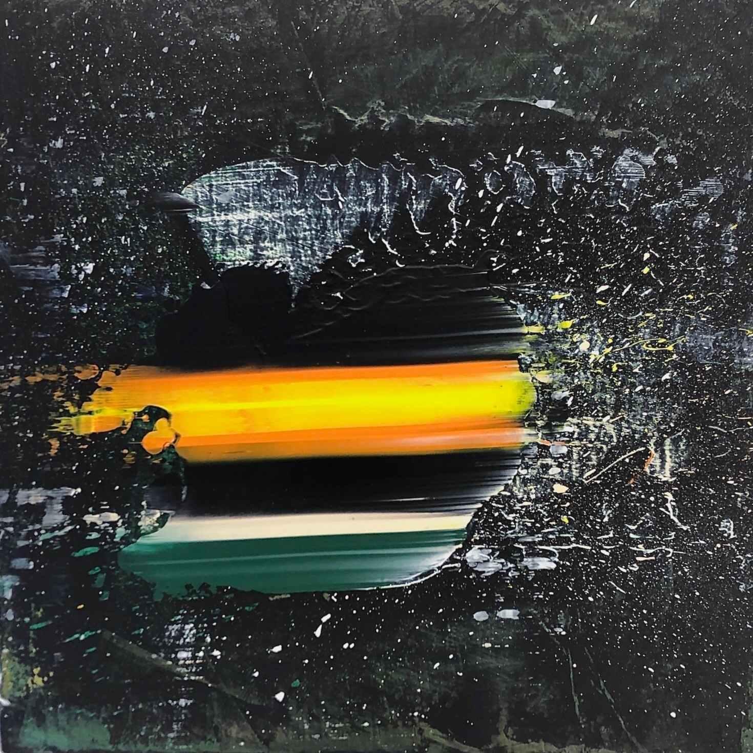 Clogwyn y Cysgod  (13 x 13 inches acrylic on mdf 2020)