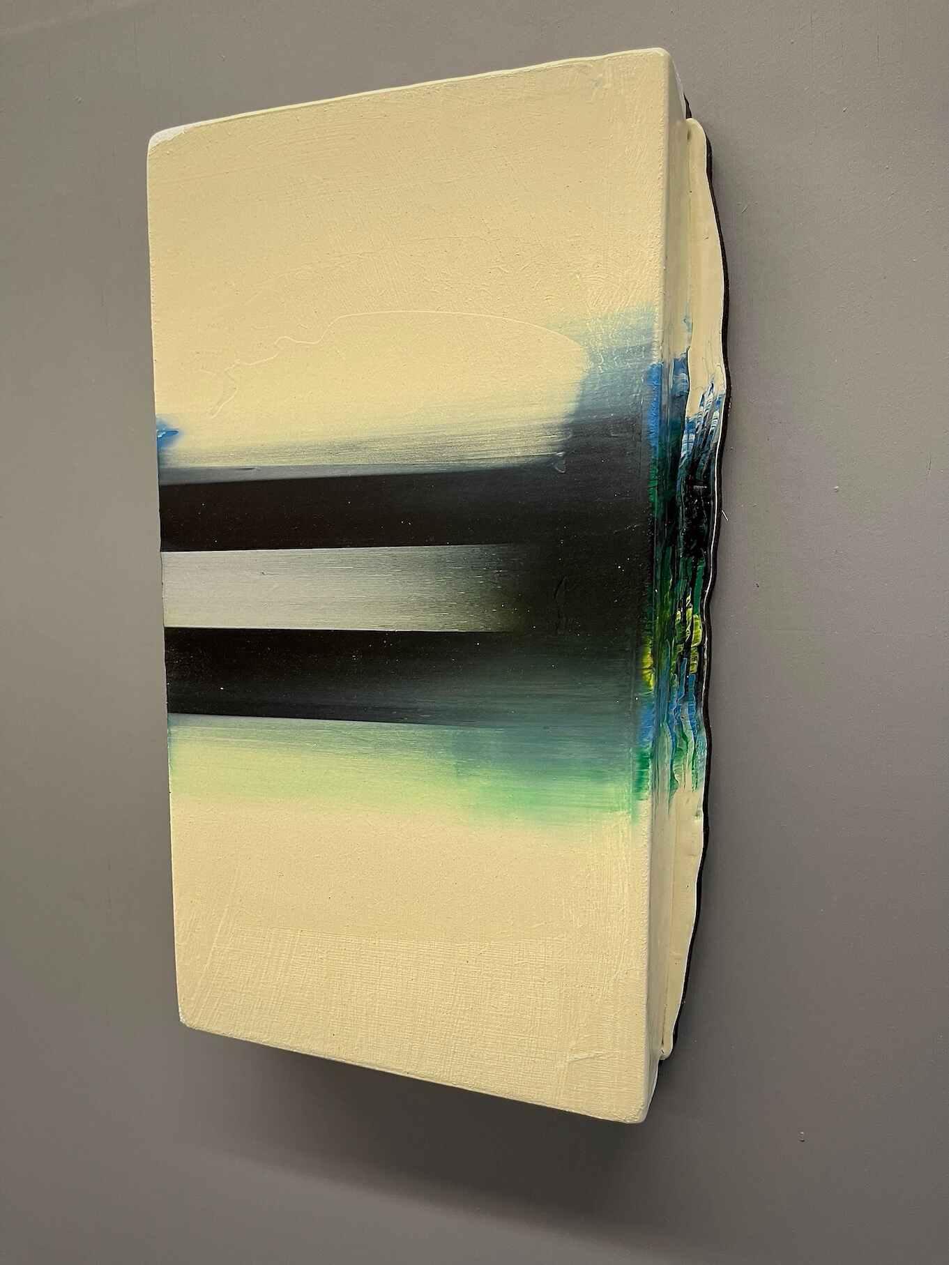Anrhefn  (12 x 7 x 1 inches acrylic on mdf 2021)